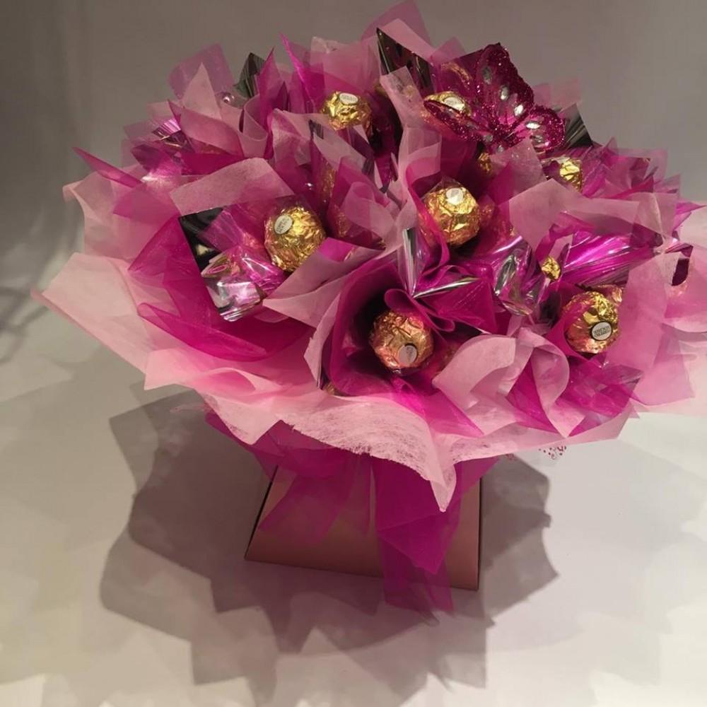 Ferrero rocher bouquet occasions florist ferrero rocher bouquet izmirmasajfo Images
