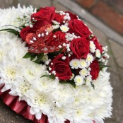 Posy Pad Funeral Tribute